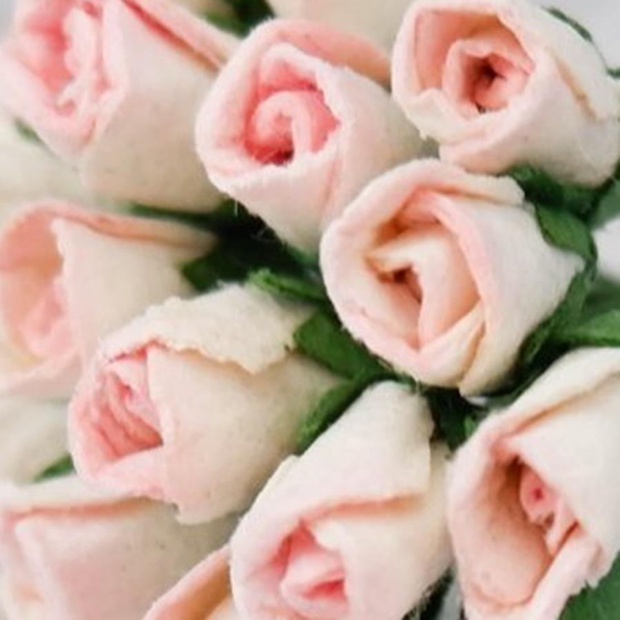 roz pal - boboc trandafir