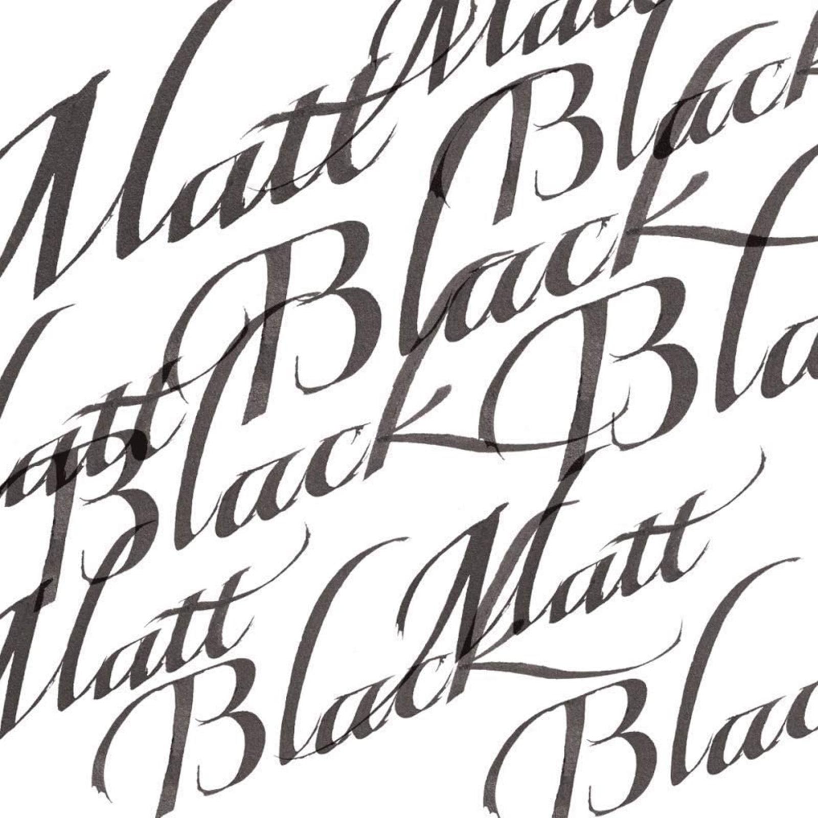 negru mat-cerneala