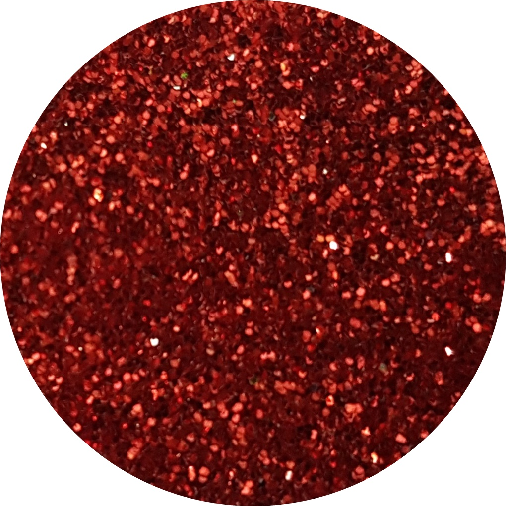 glitter rosu