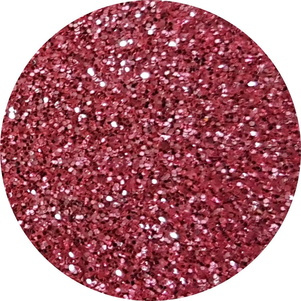 glitter roz inchis