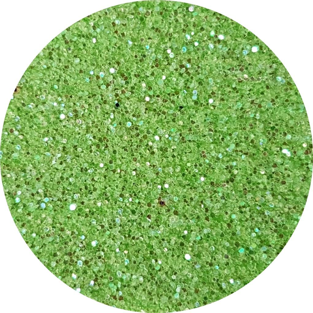 verde irizant glitter