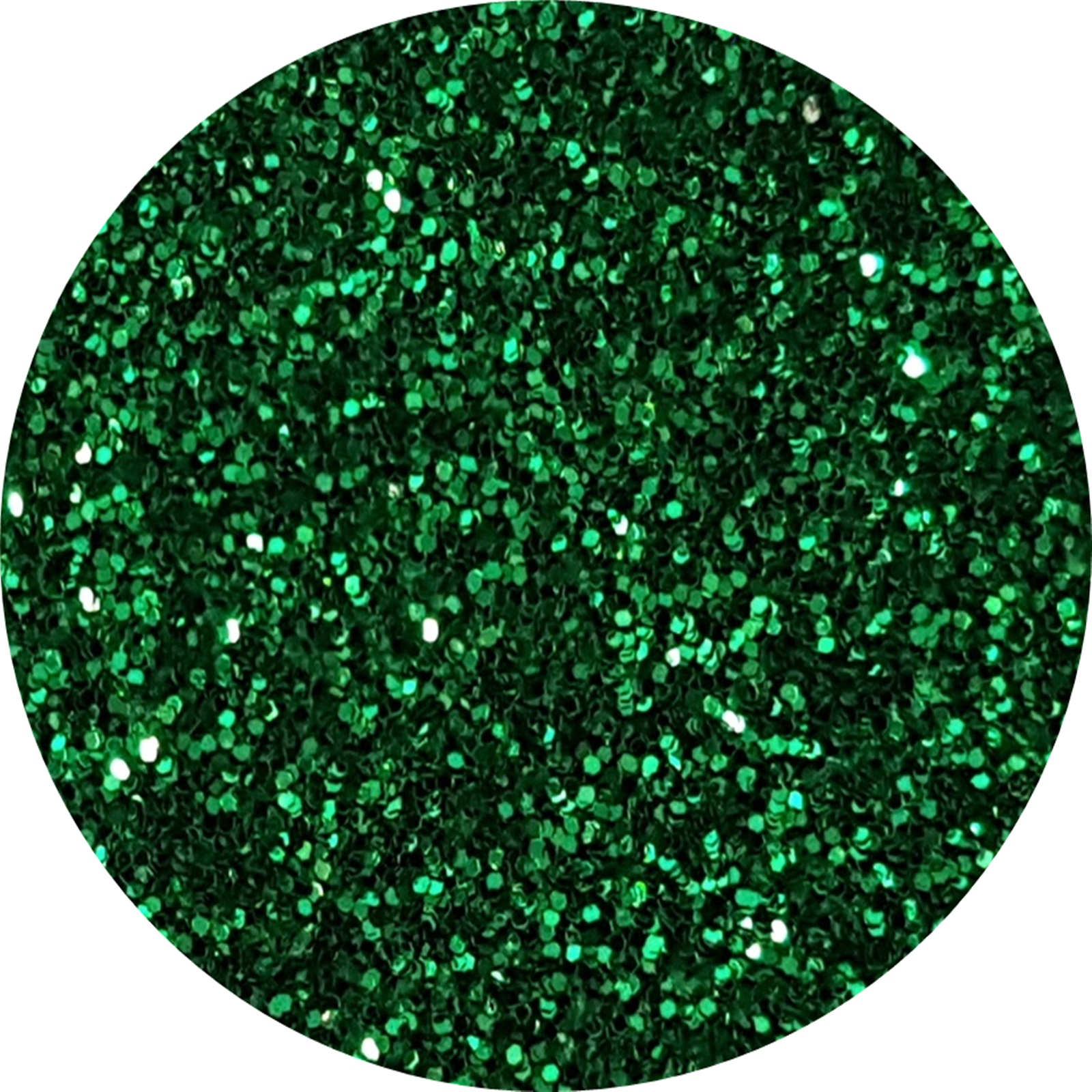 glitter verde smarald