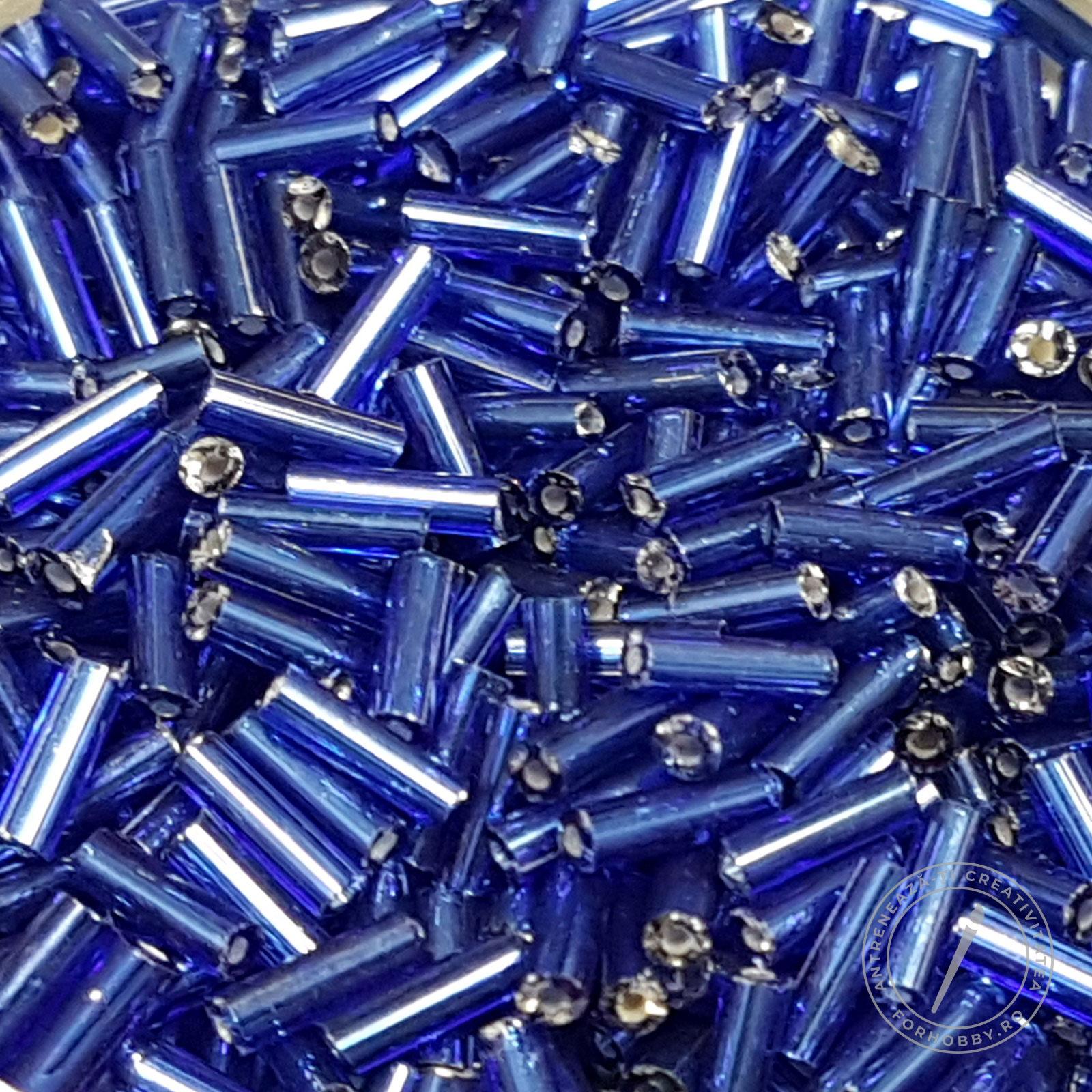 albastru inchis miez foita
