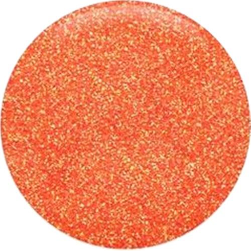 portocaliu irizant glitter