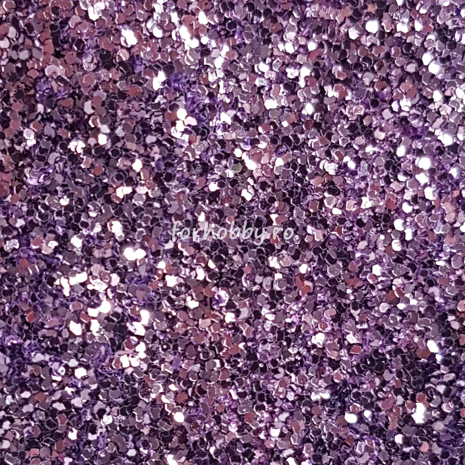 violet glitter