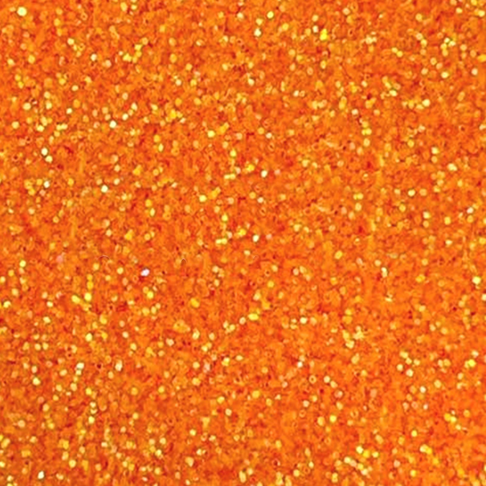 portocaliu neon glitter