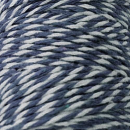 snur albastru inchis - alb