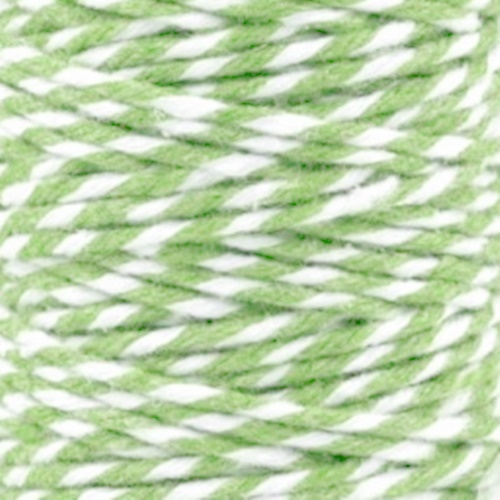 snur verde deschis - alb