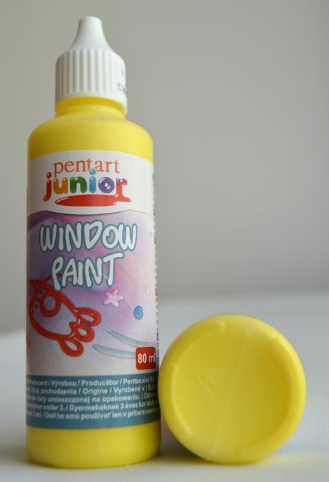 Window paint galben 80 ml 0