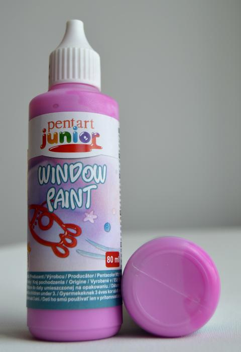Window paint magenta 80 ml
