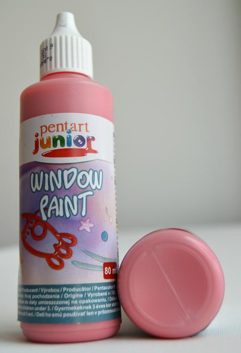 Window paint rosu 80 ml 0