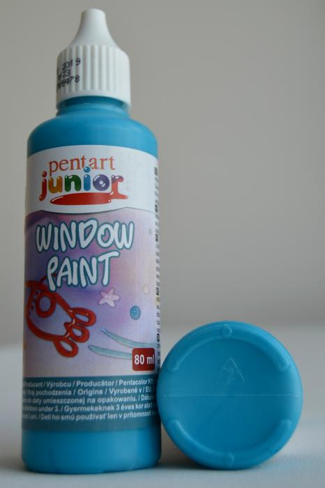 Window paint turcoaz 80 ml