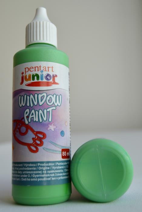Window paint verde deschis 80 ml