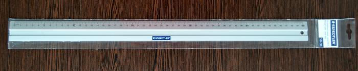 Liniar 50 cm aluminiu [0]