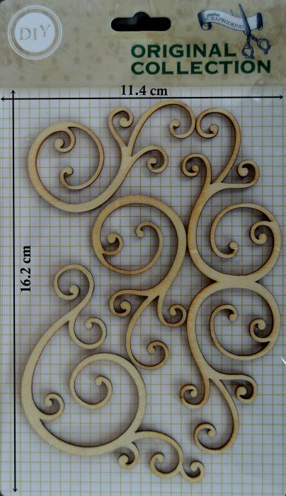 Decoratiune din lemn - Carlionti