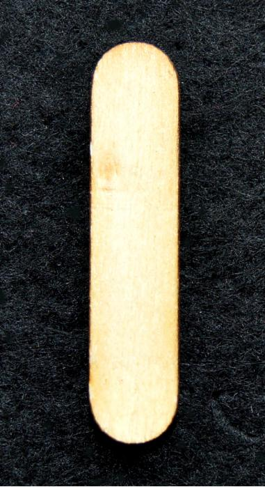 "Litera din lemn ""I"" 0"