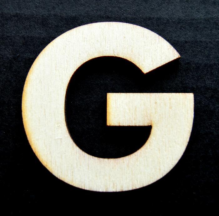 "Litera din lemn ""G"" 0"