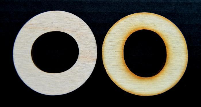 "Litera din lemn ""O"" 1"