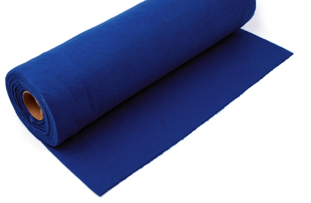Rola fetru albastru inchis 1mm grosime