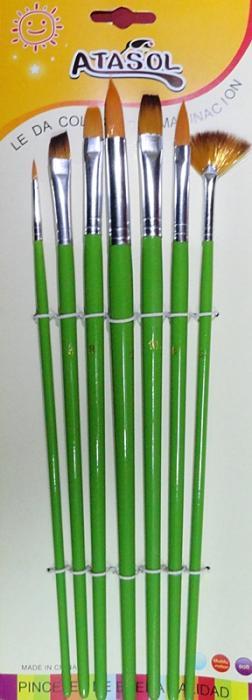 Set pensule mixt 0