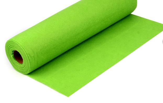 Rola fetru verde deschis 1mm grosime 0