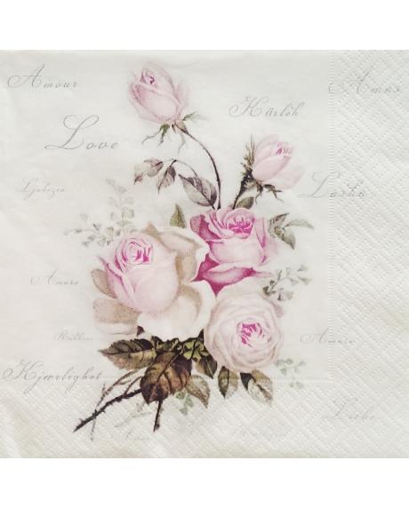 Servetel floral [0]
