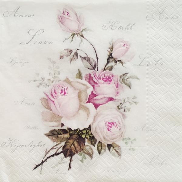 Servetel floral vintage 0