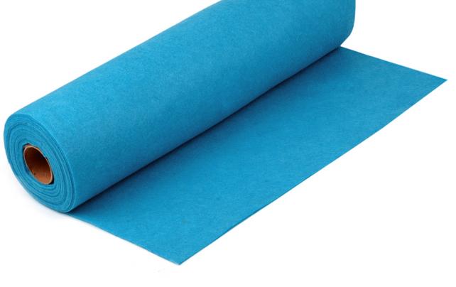 Rola fetru albastru deschis 1mm grosime 0