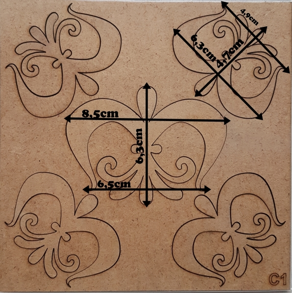 Forme din HDF - Model decorativ 4 2