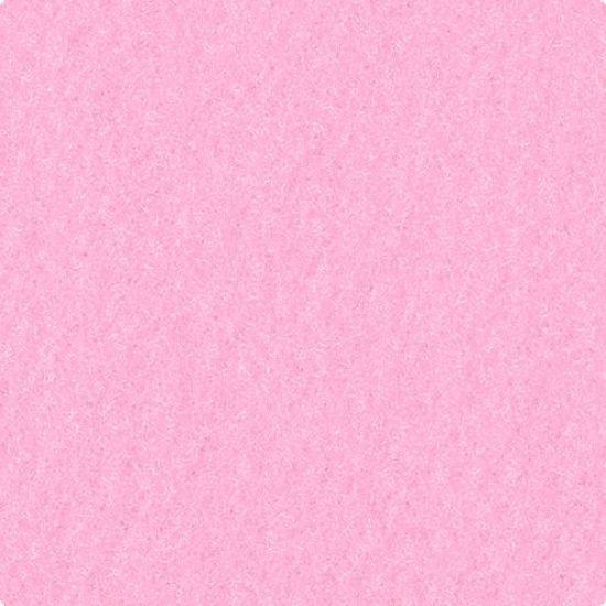 Fetru coala 40x50 cm roz 3 mm grosime 0