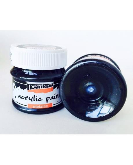 Vopsea acrilica grafit, 50 ml 0