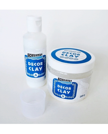 Decor clay (80 ml+200 g) 0