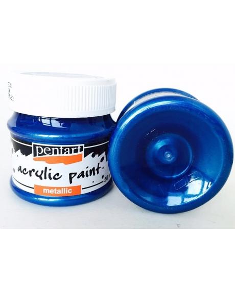 Vopsea acrilica albastru (50 ml)