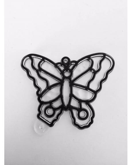 Sablon plastic de colorat - Fluture 0