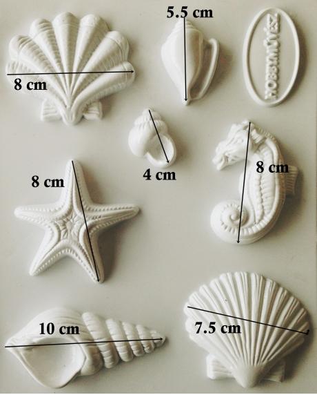 Matrita pentru turnat- Modele marine 1