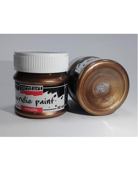 Vopsea acrilica arama antic (50 ml) 0
