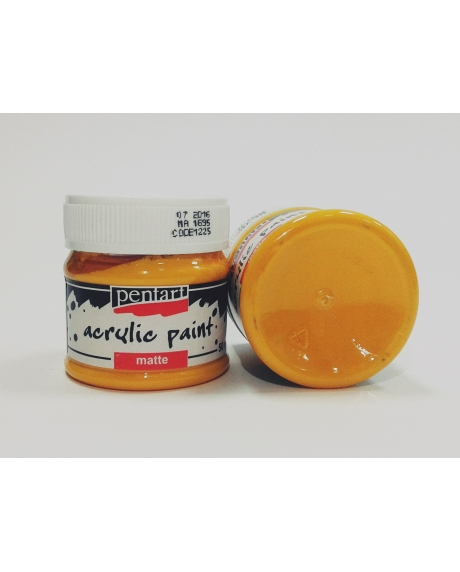 Vopsea acrilica galben soare, 50 ml 0