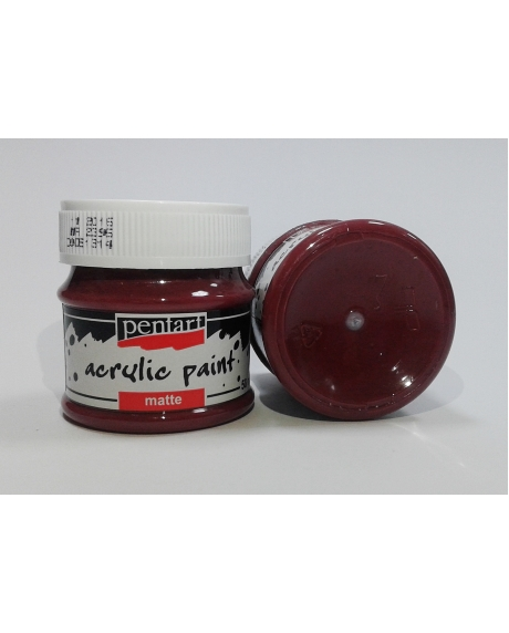 Vopsea acrilica bordo 50 ml 0