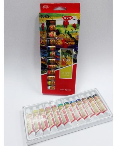 Set 12 culori ulei Daco CU412 1
