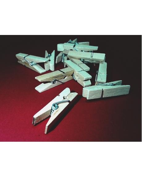 Cleme lemn 4.5x0.7 cm (10 buc/set) 0