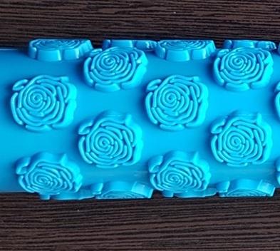 Roller cu textura - Trandafiri 1