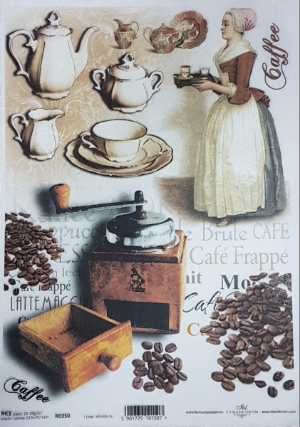 Hartie de orez A4 - Cafea 0