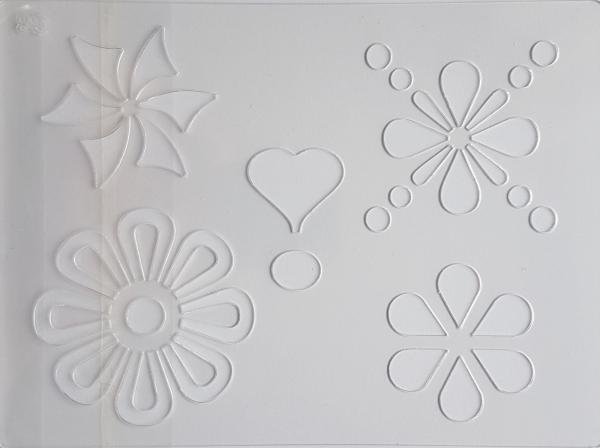 Sablon plastic - Floral 0