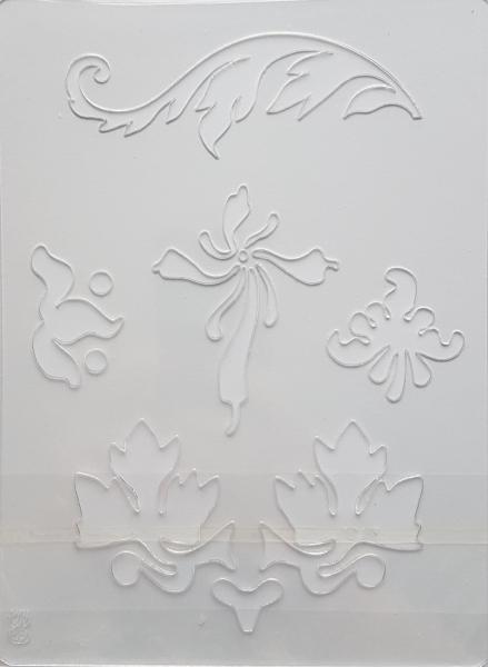 Sablon plastic - Decor frunze 0