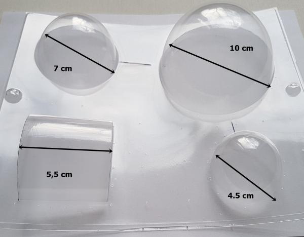 Matrita pentru turnat - Forme geometrice 1