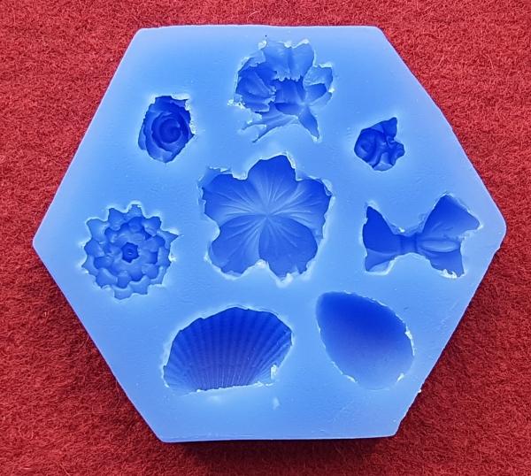 Mulaj din silicon, mix forme 0