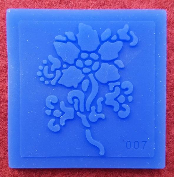 Mulaj din silicon, floare 0