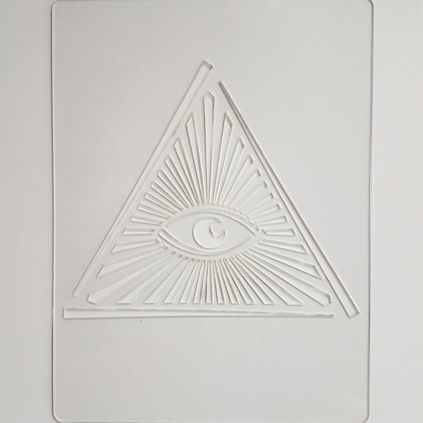 Sablon plastic - Decor 23 0