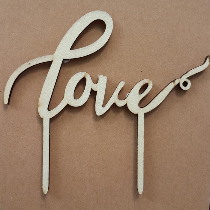 Ornament pentru tort - Love 0