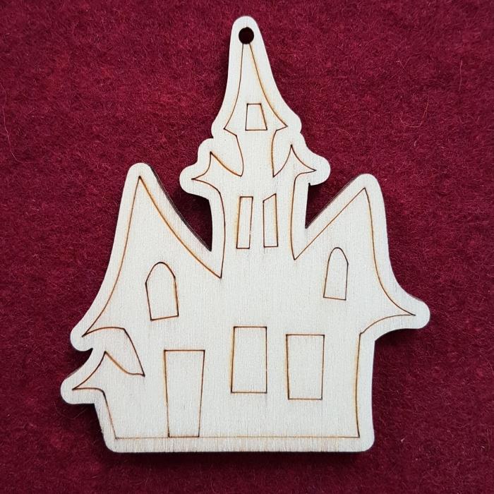 Figurina din lemn - Casuta 0